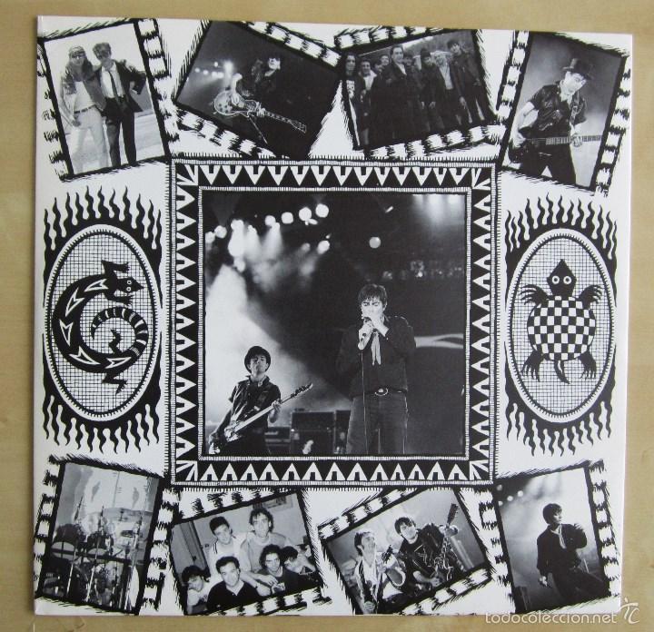 Discos de vinilo: LA FRONTERA - CAPTURADOS VIVOS - ALBUM DOBLE EN VINILO ORIGINAL PRIMERA EDICION POLYGRAM 1992 - Foto 9 - 56907453