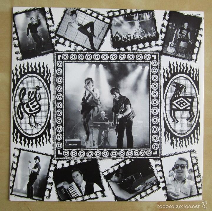 Discos de vinilo: LA FRONTERA - CAPTURADOS VIVOS - ALBUM DOBLE EN VINILO ORIGINAL PRIMERA EDICION POLYGRAM 1992 - Foto 10 - 56907453