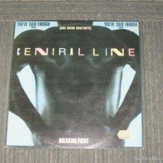 Discos de vinilo: CENTRAL LINE - YOU´VE SAID ENOUGH -MAXI - MADE IN SPAIN - 1982 - 3 TEMAS - IBL -. Lote 56909561