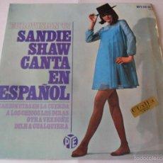Disques de vinyle: SANDIE SHAW - EP EUROVISION 67 - CANTA EN ESPAÑOL - MARIONETAS EN LA CUERDA +3 -. Lote 56910754