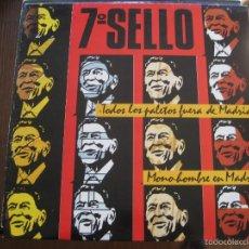 Discos de vinilo: 7º SELLO - TODOS LOS PALETOS FUERA DE MADRID - MAXISINGLE TWINS 1985. Lote 56912029