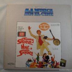 Discos de vinilo: LP HISTORIA DE LA MUSICA EN EL CINE Nº 9 LA MITAD DE 6 PENIQUES (HALF A SIXPENCE) BSO.. Lote 56912626