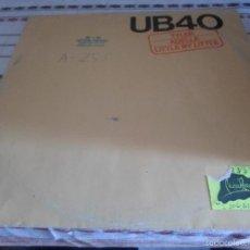 Discos de vinilo: UB40 TYLER. Lote 56912781