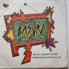 Discos de vinilo: BASURA- NO SEAS LESBIANA MI AMOR - SPANISH SINGLE PUNK 1978- VINILO EXCELENTE ESTADO.. Lote 56915964