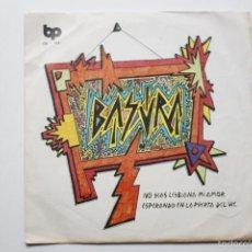 Discos de vinilo: BASURA- NO SEAS LESBIANA MI AMOR - SPANISH SINGLE PUNK 1978- VINILO EN BUEN ESTADO.. Lote 56916052