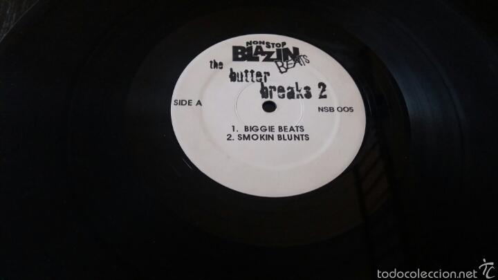 THE BUTTER BREAKS.NSB 005.RARO. (Música - Discos de Vinilo - Maxi Singles - Rap / Hip Hop)