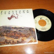 Discos de vinil: TXARRENA EMPUJO PA´KI SINGLE DE VINILO PROMOCIONAL AÑO 1992 EL DROGAS BARRICADA MISMO TEMA. Lote 56923682