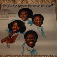 Discos de vinilo: GLADYS KNIGHT AND THE PIPS ( THE BEST OF GLADYS KNIGHT & THE PIPS ) USA - 1976 LP33. Lote 56925383