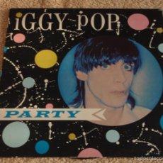 Discos de vinilo: IGGY POP ?– PARTY, SCANDINAVIA 1988 ARISTA. Lote 56926085