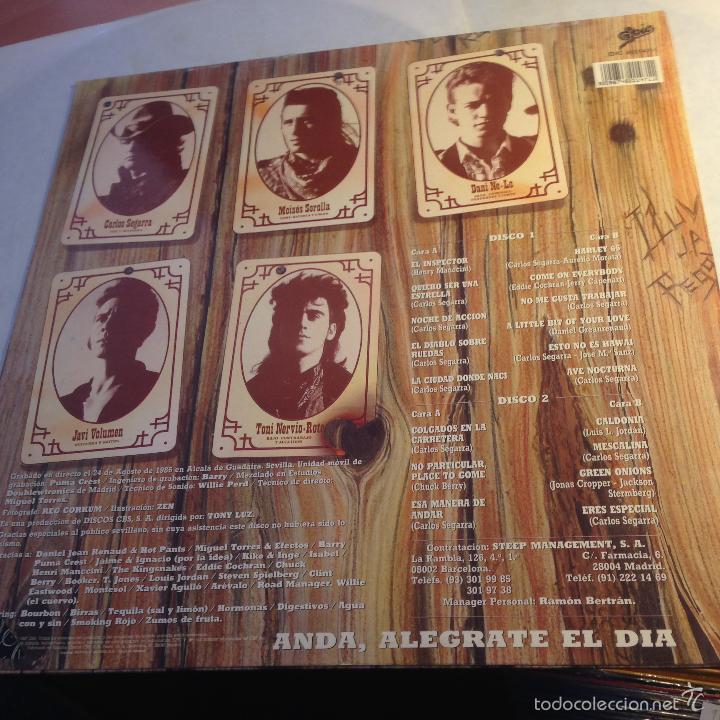 Discos de vinilo: LOS REBELDES (PREFERIBLEMENTE VIVOS) 2 LP ESPAÑA 1990 (VINA) - Foto 4 - 56927294