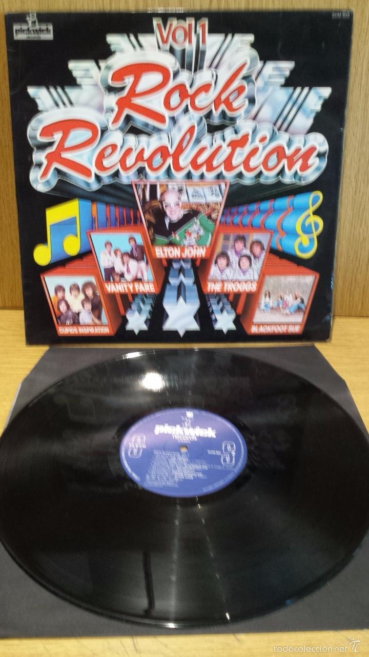 ROCK REVOLUTION.VOL. 1. LP / PICKWICK / MBC. ***/*** (Música - Discos - LP Vinilo - Rock & Roll)
