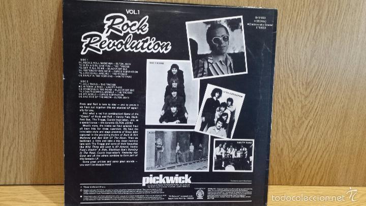 Discos de vinilo: ROCK REVOLUTION.VOL. 1. LP / PICKWICK / MBC. ***/*** - Foto 2 - 56927384