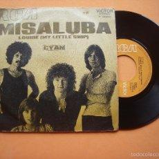 Discos de vinilo: CYAN. LOUISE 8 MY LITTLE SHIP) - MISALUBA. SINGLE 45 RPM DE 1971 VINILO EX++ CARATULA EX. Lote 56928713
