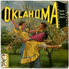 Discos de vinilo: AL GOODMAN – OKLAHOMA (RODGERS - HAMERSTEIN) - EP SPAIN 1959. Lote 56938105
