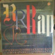 Discos de vinilo: DISCO DE VINILO VARIOS CUATRO RAPSODIAS CUMBRES (EDICIÓN ESPAÑOLA, 1965). Lote 56943068