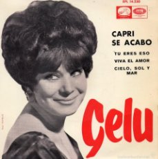 Discos de vinilo: GELU, EP, CAPRI SE ACABÓ.+ 3, AÑO 1965. Lote 56943365