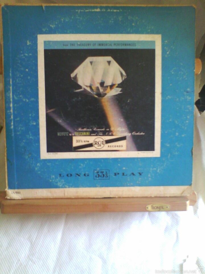 DISCO DE VINILO BEETHOVEN - CONCERTO IN D. MAJOR OPUS 61 (PRINTED IN USA. SIN FECHA) (Música - Discos - LP Vinilo - Clásica, Ópera, Zarzuela y Marchas)