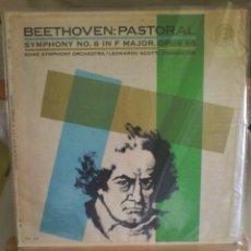 Discos de vinilo: DISCO DE VINILO BEETHOVEN - CONCERTO IN D. MAJOR OPUS 68 (PRINTED IN USA. SIN FECHA). Lote 56943635