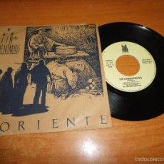 Discos de vinilo: SIN COMENTARIOS ORIENTE / JUNTO AL MAR SINGLE VINILO DAFFI RECORDS 1989 MOVIDA PORTADA PAPEL RAREZA. Lote 56944594