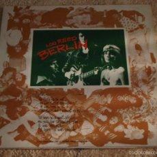 Discos de vinilo: LOU REED – BERLIN, GERMANY 1973 RCA. Lote 56946856