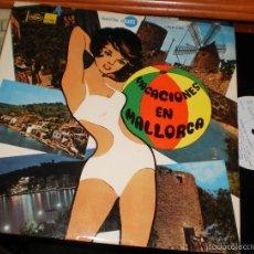 Discos de vinilo: VACACIONES EN MALLORCA LP LOS BETA-GRUPO 15-LOS SIXTAR-LOS 5 DEL ESTE.ETC EMI REGAL-1968. Lote 56947135