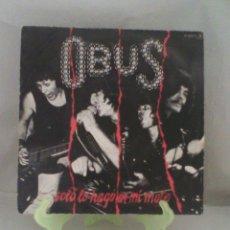 Discos de vinilo: OBÚS - SOLO LO HAGO EN MI MOTO. Lote 56947948
