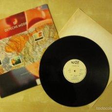Discos de vinilo: DEPECHE MODE - NEVER LET ME DOWN AGAIN SPLIT MIX - MAXI VINILO ORIGINAL PRIMERA EDICION MUTE 1987. Lote 56949214
