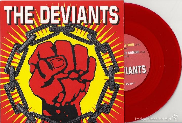 DEVIANTS, THE: FURY OF THE MOB / A BETTER DAY IS COMING (Música - Discos - Singles Vinilo - Pop - Rock Extranjero de los 50 y 60)