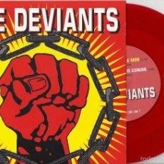 Discos de vinilo: DEVIANTS, THE: FURY OF THE MOB / A BETTER DAY IS COMING. Lote 56951744
