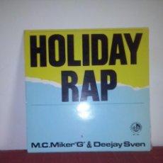 haliday rap m.c. miker G & deejay sven maxi single
