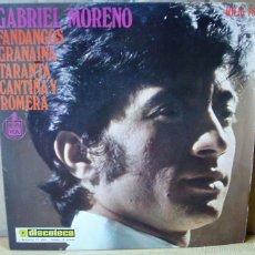 Discos de vinilo: GABRIEL MORENO (HISPAVOX HH 16-737 [1970]). Lote 56959246