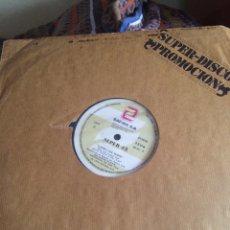 "Discos de vinilo: THE GLASS FAMILY/LAURA LEE MANN-AFTER THE DANCE/ROLLER DISCO DIP-12"" PROMO RARO NUEVO. Lote 56964190"