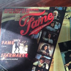 Discos de vinilo: FAME-LOS CHICOS DE FAMA-FAME/STARMAKER-PROMO 1983 NUEVO. Lote 56964479