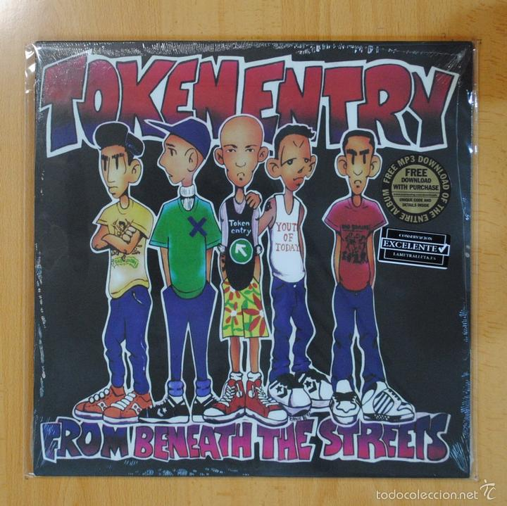 TOKEN ENTRY - FROM BENEATH THE STREETS - LP (Música - Discos - LP Vinilo - Punk - Hard Core)