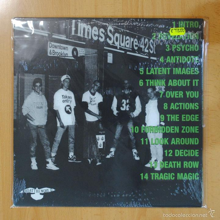 Discos de vinilo: TOKEN ENTRY - FROM BENEATH THE STREETS - LP - Foto 2 - 56965483