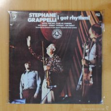 Discos de vinilo: STEPHANE GRAPPELLI - I GOT RHYTHM - GATEFOLD - 2 LP. Lote 56965945