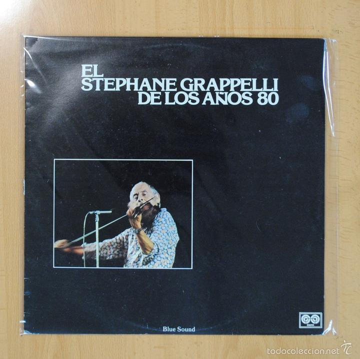 STEPHANE GRAPPELLI - EL STEPHANE GRAPPELLI DE LOS AOS 80 - LP (Música - Discos - LP Vinilo - Jazz, Jazz-Rock, Blues y R&B)