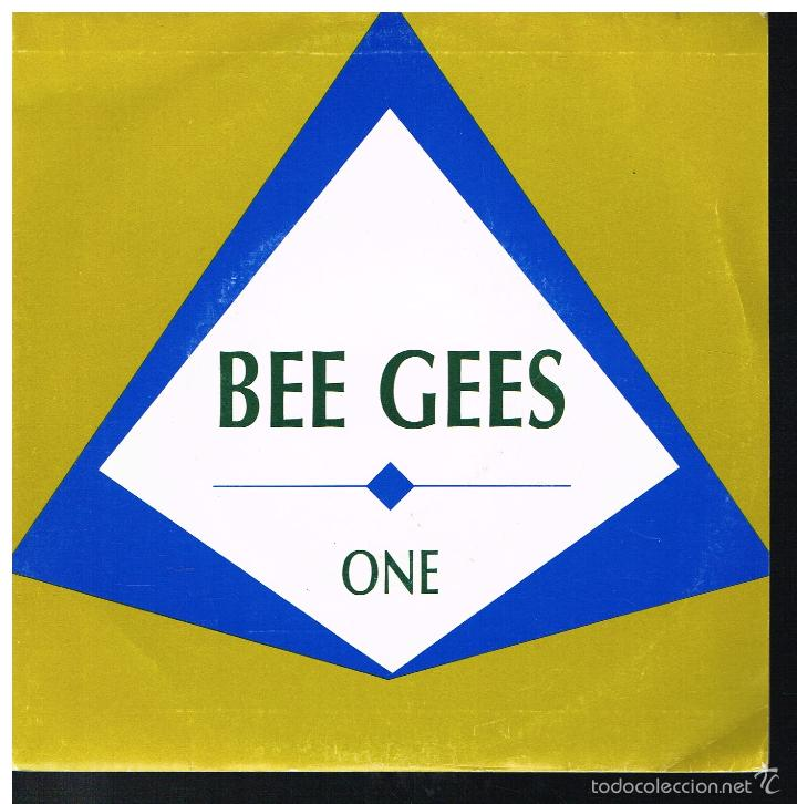 BEE GEES - ONE - SINGLE 1989 - PROMO (Música - Discos de Vinilo - Singles - Pop - Rock Extranjero de los 80)