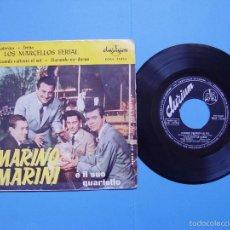 Discos de vinilo: MARINO MARINI Y LOS MARCELLOS FERIAL (DURIUM, 1962) VINILO EP. ED. ESPAÑOLA ¡¡COLECCIONISTA!!. Lote 56973730