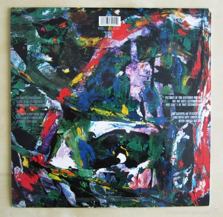 Discos de vinilo: THE CURE - MIXED UP - DOBLE ALBUM VINILO ORIGINAL FICTION RECORDS 1990 EDICION ESPAÑA - Foto 3 - 56974497