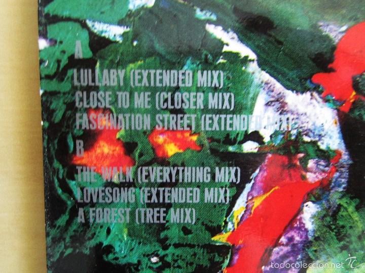 Discos de vinilo: THE CURE - MIXED UP - DOBLE ALBUM VINILO ORIGINAL FICTION RECORDS 1990 EDICION ESPAÑA - Foto 5 - 56974497