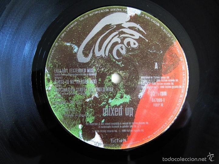 Discos de vinilo: THE CURE - MIXED UP - DOBLE ALBUM VINILO ORIGINAL FICTION RECORDS 1990 EDICION ESPAÑA - Foto 8 - 56974497