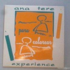 Disques de vinyle: ANA TERE EXPERIENCE: PARA COLOREAR. EP.. Lote 56975777