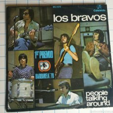 Discos de vinilo: VINILO. LOS BRAVOS. PEOPLE TALKING AROUND.. Lote 56976201