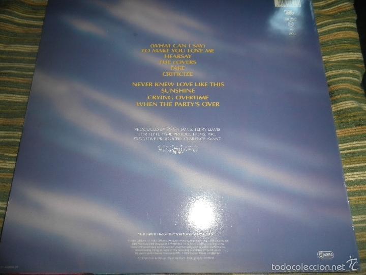 Discos de vinilo: ALEXANDER O´NEAL - HEARSAY LP - ORIGINAL HOLANDES - TABU/CBS 1987 FUNDA INT. ORIGINAL MUY NUEVO(5) - - Foto 2 - 56976242