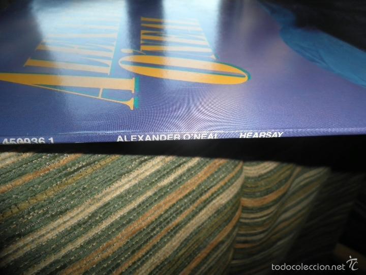 Discos de vinilo: ALEXANDER O´NEAL - HEARSAY LP - ORIGINAL HOLANDES - TABU/CBS 1987 FUNDA INT. ORIGINAL MUY NUEVO(5) - - Foto 7 - 56976242