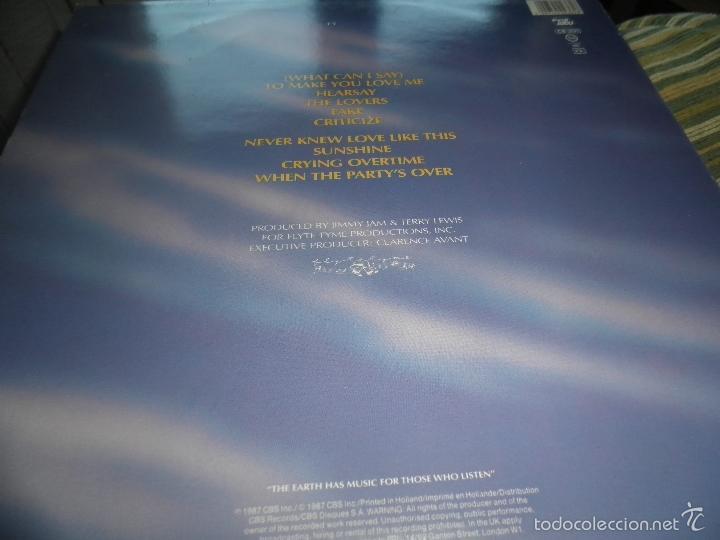 Discos de vinilo: ALEXANDER O´NEAL - HEARSAY LP - ORIGINAL HOLANDES - TABU/CBS 1987 FUNDA INT. ORIGINAL MUY NUEVO(5) - - Foto 8 - 56976242