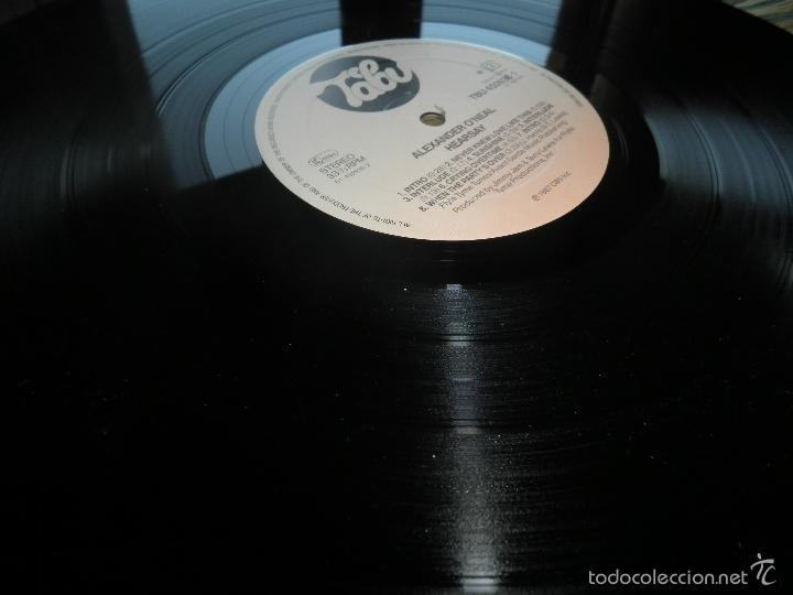 Discos de vinilo: ALEXANDER O´NEAL - HEARSAY LP - ORIGINAL HOLANDES - TABU/CBS 1987 FUNDA INT. ORIGINAL MUY NUEVO(5) - - Foto 19 - 56976242