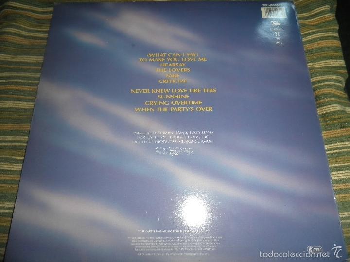 Discos de vinilo: ALEXANDER O´NEAL - HEARSAY LP - ORIGINAL HOLANDES - TABU/CBS 1987 FUNDA INT. ORIGINAL MUY NUEVO(5) - - Foto 21 - 56976242