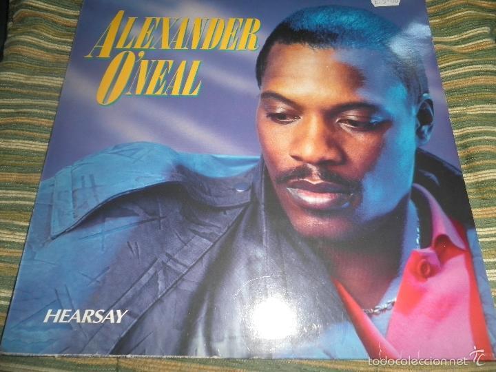 Discos de vinilo: ALEXANDER O´NEAL - HEARSAY LP - ORIGINAL HOLANDES - TABU/CBS 1987 FUNDA INT. ORIGINAL MUY NUEVO(5) - - Foto 22 - 56976242